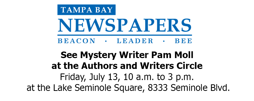 Pam Featured at the Author Writer Circle Friday, July 13th